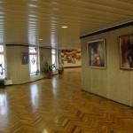 Изложба на Е. Велев във фоайето на издателство Типография Наука на Руската Академия на науките, Москва