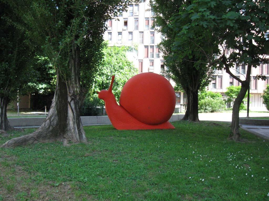 Инсталация на съвременното изкуство в Padova