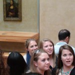 Лувъра (2) селфи пред Мона Лиза