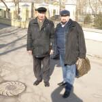 С проф. Циганенко пред Третяковската галерия в Москва