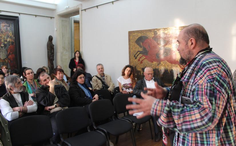 """Културно иновативно събитие """"Творческа вечер"""" на проф. Велев, гр. Велико Търново"""